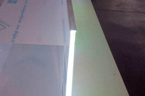 Particolare Laser backlight