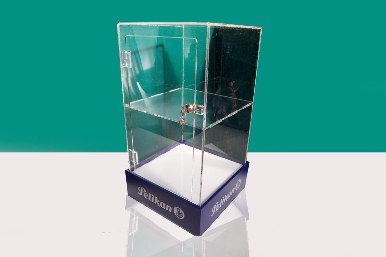 Vetrinetta da banco in Plexiglas (Pelikan)